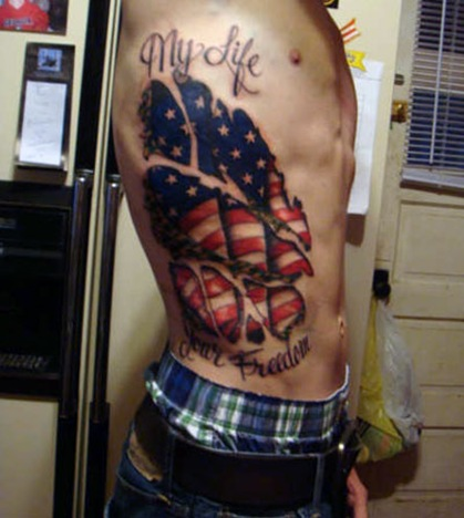 Military Tattoos Pictures